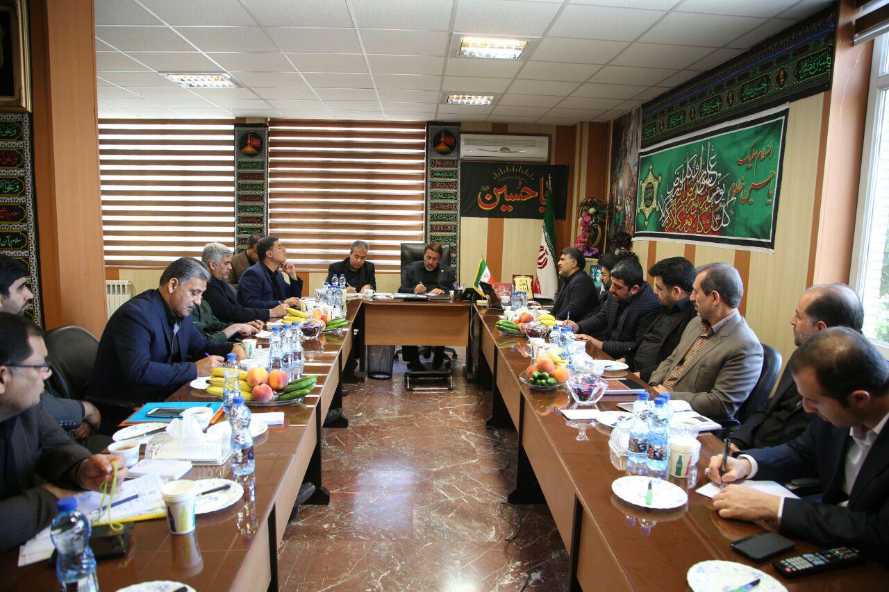 جلسه هماهنگی برپایی موکب احباب الرضا(ع) شهرستان ورامین